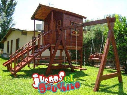 Juegos de jardin para ni os imagui for Casitas de madera para jardin para ninos