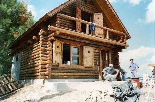 Fotos de caba as de tronco y casas alpinas en buenos aires - Casas de madera de troncos ...