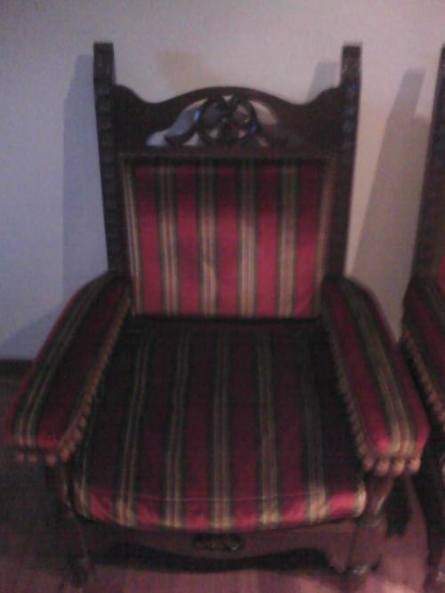 Fotos de 2 sillones estilo espa ol de 1 cuerpo en buenos for Sillones de estilo