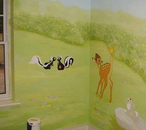 Lbumes de fotos infantiles pintados a mano imagui - Murales pintados a mano ...