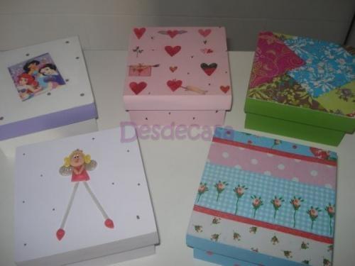 Cajas infantiles pintadas imagui for Caja almacenaje infantil
