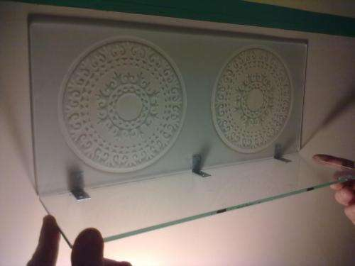 Estantes De Cristal Para Baño:Fotos de Estantes para baño decorados en espejo y vi en Buenos Aires