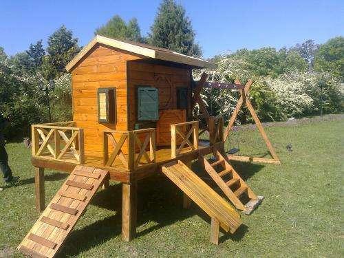 Casita de maderas imagui for Casitas de jardin infantiles