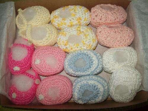 Ropa para bebes, tejida a mano en hilo o lana - Santa Fe ...