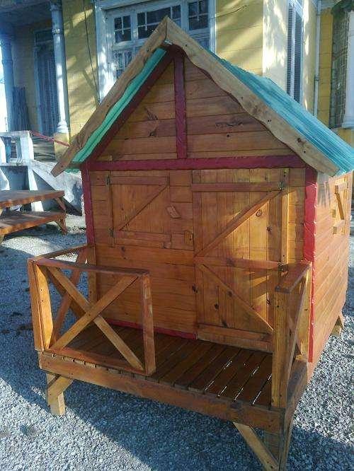 Por la vida y la alegr a cabanas madera infantiles for Cabanas infantiles en madera