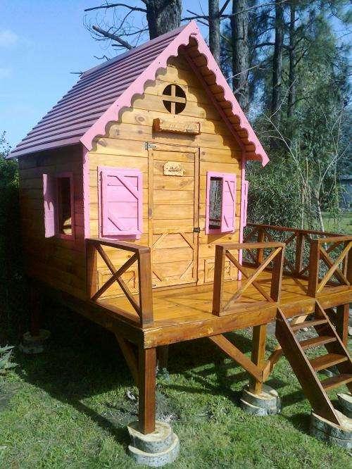 Casas infantiles para jardin casita infantil harry de x for Vendo casita de madera para jardin