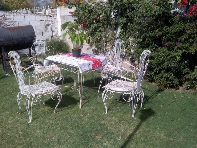 Beautiful juegos de jardin de hierro pictures amazing for Juego de jardin de hierro antiguo