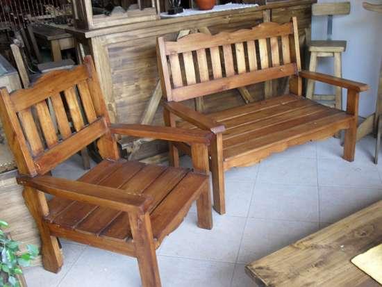 Muebles rusticos de campo 20170818050909 for Bar de madera estilo campo