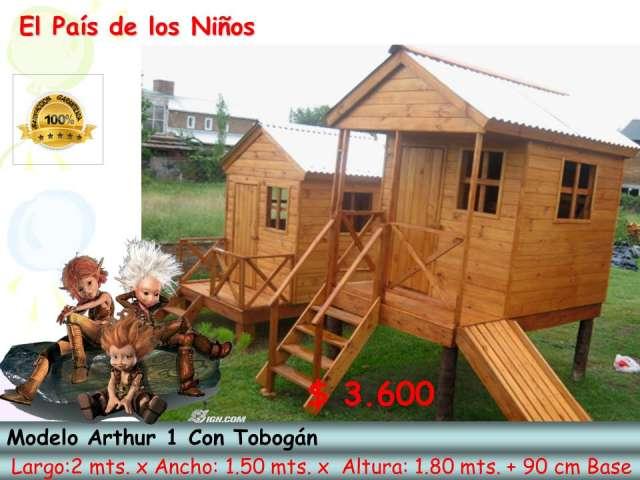 Casitas de madera para chicos imagui - Casas de maderas para ninos ...