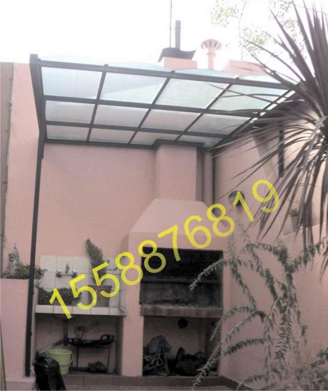 Techos de policarbonato para garage terrazas patios - Techos para terrazas ...