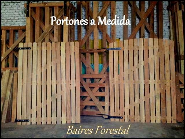 Puertas jardin madera good tranquera de madera porton for Como hacer una puerta de madera para jardin