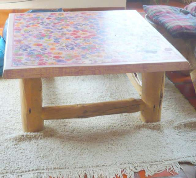 Muebles rusticos de madera  fabrico y diseño en Río Negro