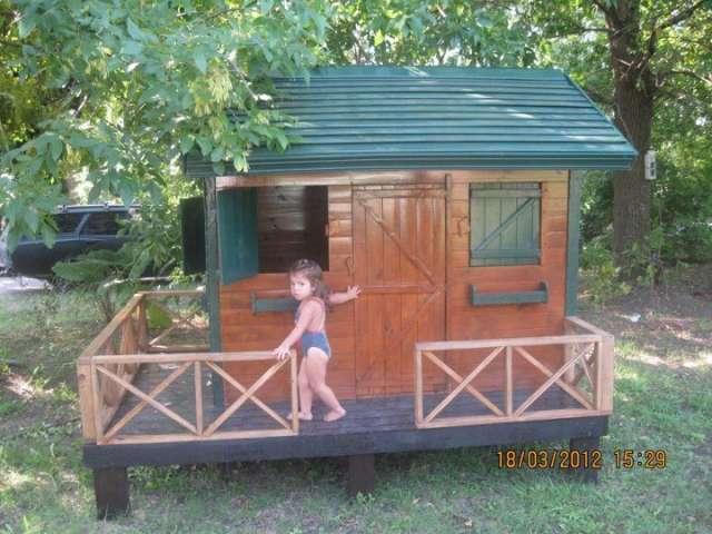 Juegos de madera para jardin casitas de madera para nios for Vendo casita de madera para jardin