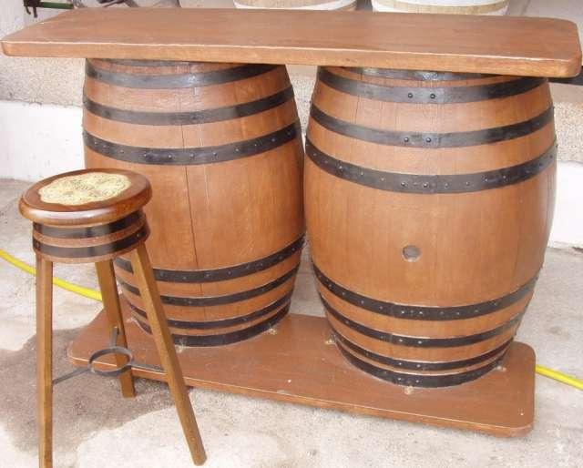 Muebles de barricas!! adornos venta de barriles!! en Mendoza