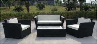 Mueble rattan sintetico de color negro villa urquiza - Muebles rattan sintetico ...