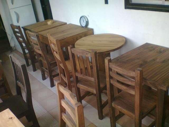 Muebles pino fabrica y arma sillas 20170724133744 - Sillas para bares ...