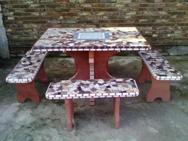juegos de jardin de cemento revestidos en san francisco muebles