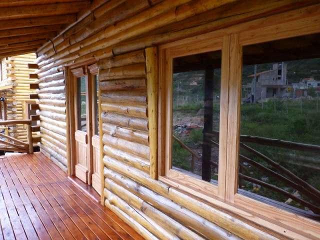 Fotos de construccion caba as alpinas chalet viviendas - Construccion de cabanas de madera ...