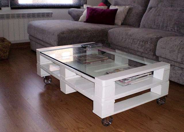 muebles para cocina hechos con tarimas
