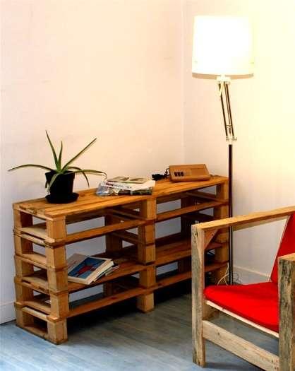 Muebles para television de tarimas for Tarimas de madera para muebles