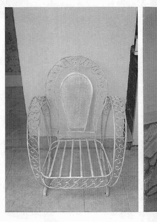 sillones de jardin hierro forjado antiguos