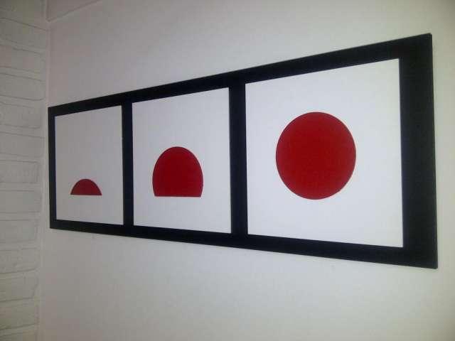 Cuadros minimalistas con relieve imagui for Cuadros minimalistas