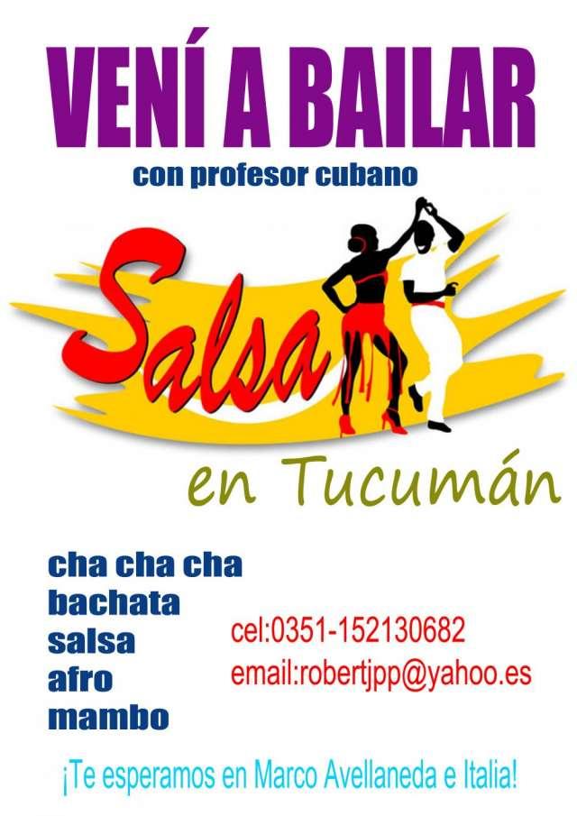 Clases de salsa, bachata y ritmos latinos