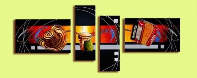 Cuadros oleos modernos africanos deko minimalistas - Ensenada ...