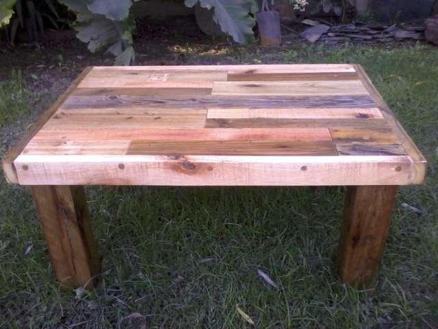 Mesa rustica madera free mesa rustica with mesa rustica - Mesas madera reciclada ...