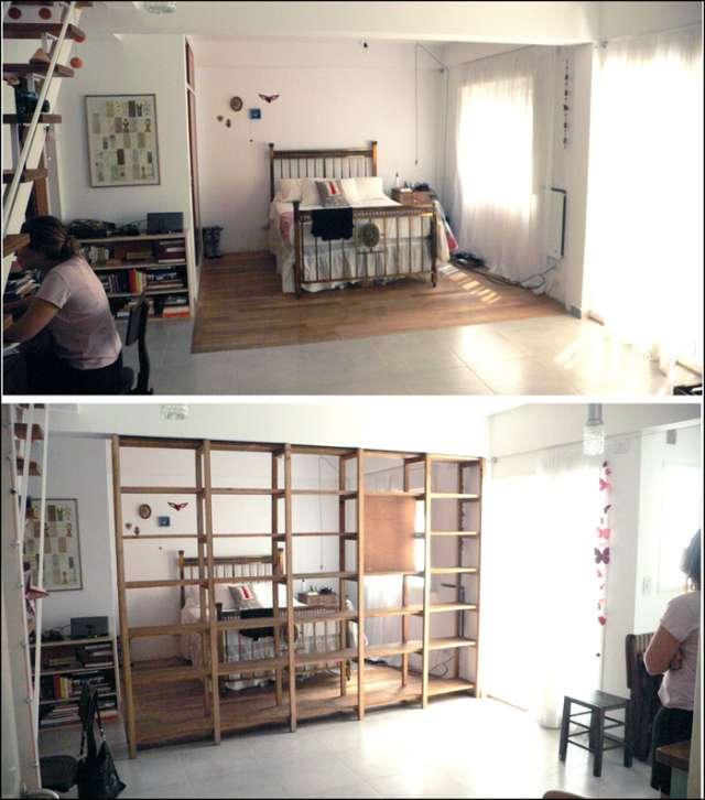 Bibliotecas y estanterias de madera en Belgrano, Argentina  Muebles