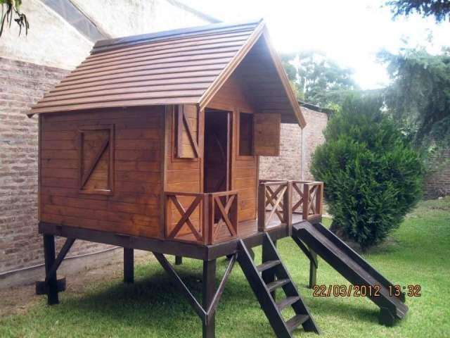 Dise os de casitas de madera para ni os casa dise o for Casitas de madera para jardin para ninos