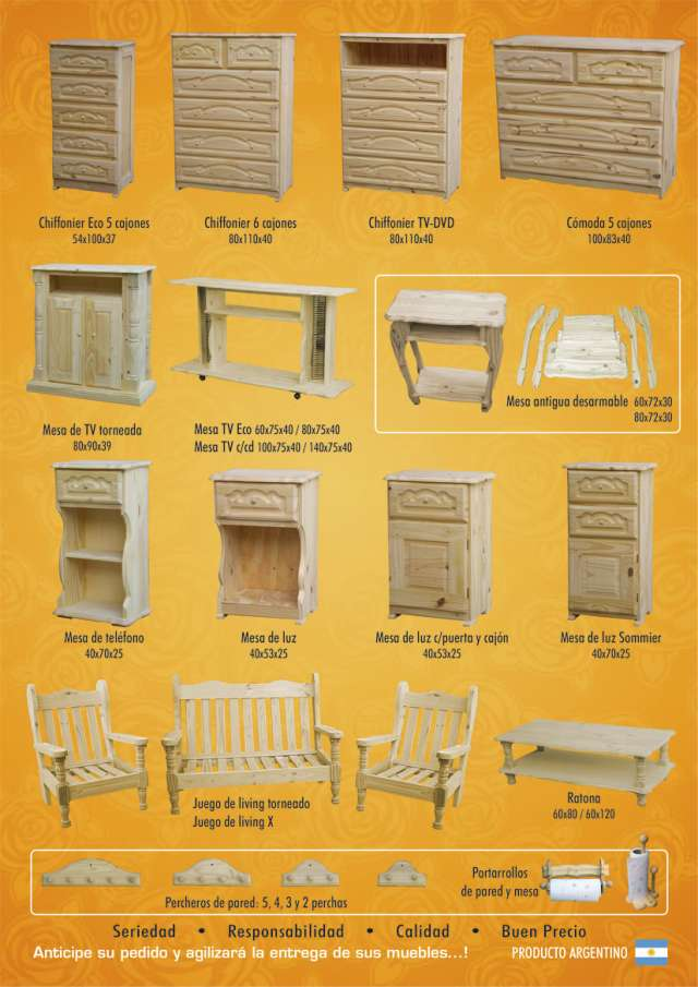 Muebles de pino capital federal 20170729162907 for Fabrica de muebles de pino