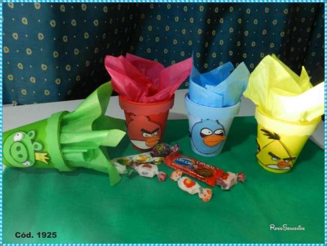 Souvenir de cumpleaños infantil de Angry Birds - Imagui