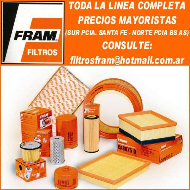 Filtros fram (aceite - aire) linea completa