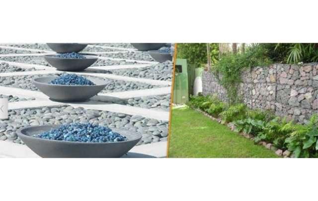 Venta de piedras decorativas para jardin piedra natural - Macetas de piedra para jardin ...