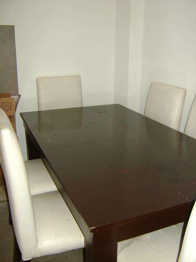 Juego de comedor mesa y 6 sillas vendo !! en Tigre, Argentina ...