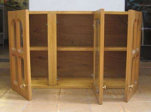 Puertas de madera para cocina marbevicar decoracin en madera para cocina placas de empuje para - Alacenas de madera para cocina ...