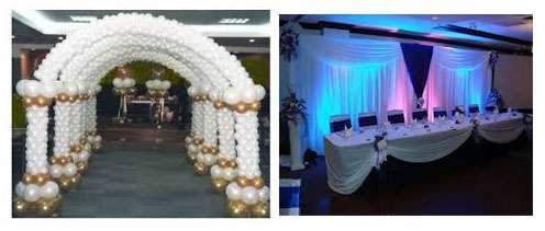 curso de decoracin con telas y globos en fiestas y eventos