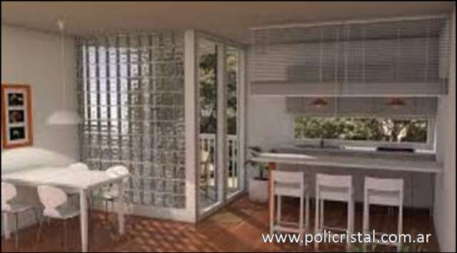 Pin ladrillos de vidrio la entrada luz natural favorece - Ladrillo de cristal ...