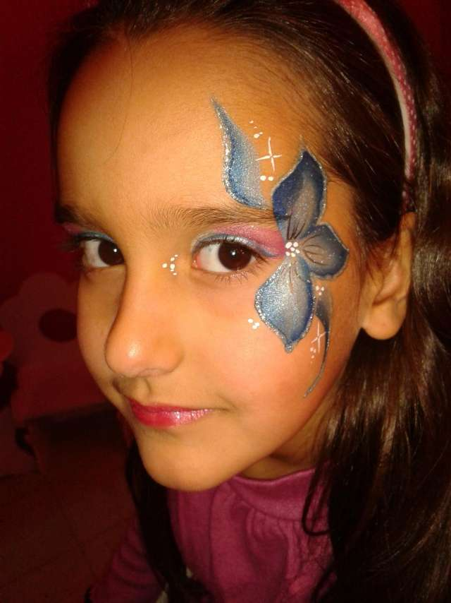 Maquillaje artistico facil para chicos - Pinturas de cara para ninos ...