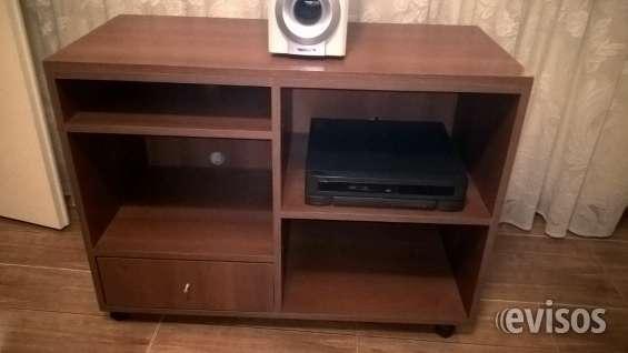 Mueble para tv dvd equipo audio c/ rueditas excelente estado en ...