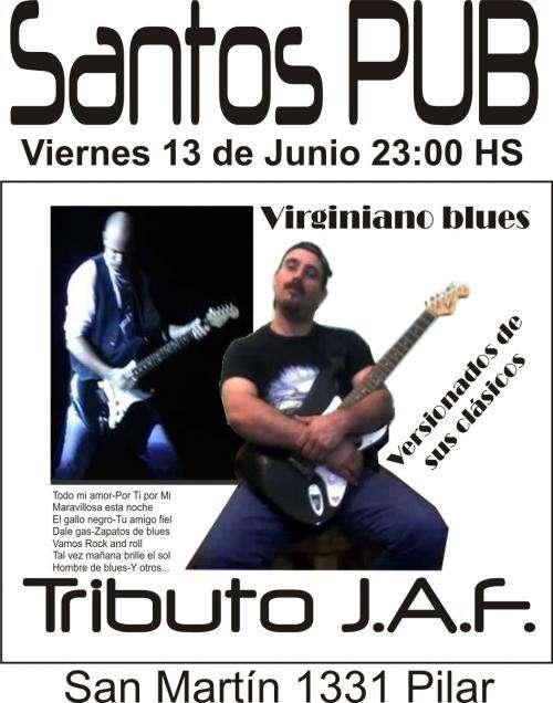 Show rock y blues español