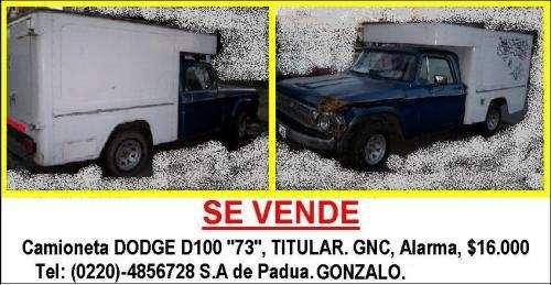 Camioneta en venta urgente