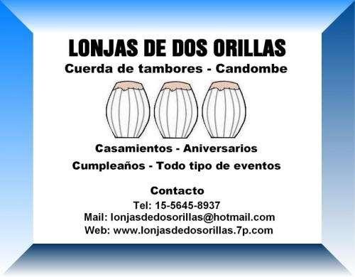 Lonjas de dos orillas - candombe