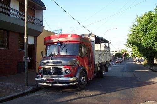 Transporte de camion 1114 playo 6mts con portones desmontebles