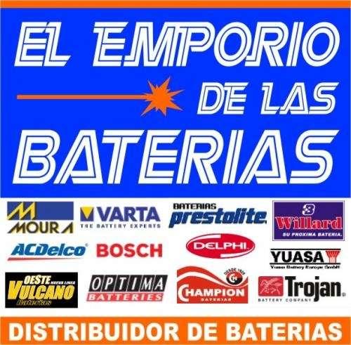 Baterias willard, varta, moura