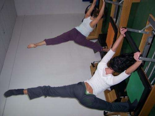 Pilates, técnicas con esferas para manejar el estrés