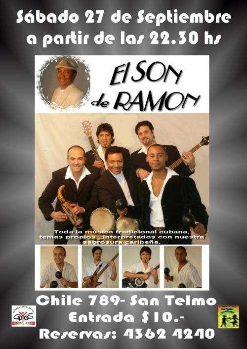 """Show de salsa """"el son de ramon en tu fiesta"""""""