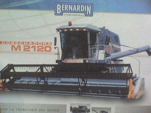 Vendo cosechadora bernardin m2120 nueva