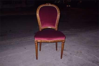 Juego de 4 sillas inglesas retauradas a nuevo